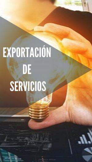 exportaciones de servicios