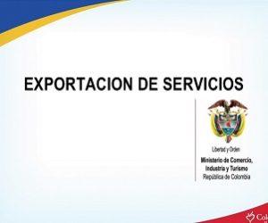 exportación de servicios en colombia